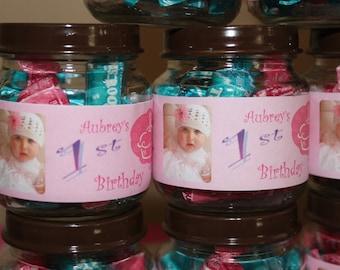 Printable Baby Food Jar (Custom Labels) Baby Shower/Baptism