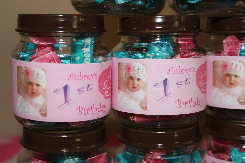 Printable Baby Food Jar Custom Labels Baby Shower/Baptism