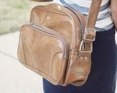 Light Brown Vintage Luggage Bag