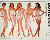 Butterick 5740 Size 12, 14, 16 Slip Camisole Panties Teddy Half Slip