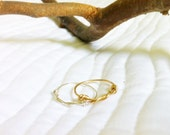 Knotty Rings