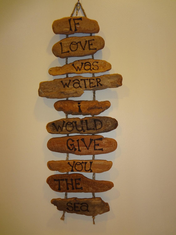 Handmade driftwood wall decor for Driftwood wall decor