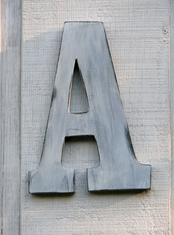 distressed wood letters rustic wooden letter a distressed painted white18 21380
