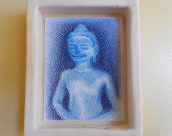 Blue Buddha Shrine (bb003)