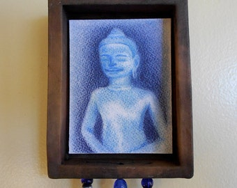 Blue Buddha Shrine (bb002)