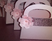 Pearl Pink gift bag party Favors Perfect for Birthdays, Bridal showers, Weddings...