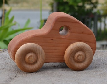 Cruiser, Redwood, Toy, Wood Car