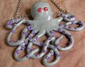 CLEARANCE Octopus necklace