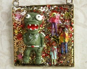 CLEARANCE Zombie Pendant Necklace