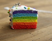 CLEARANCE 'Earrings' Small Rainbow Cake