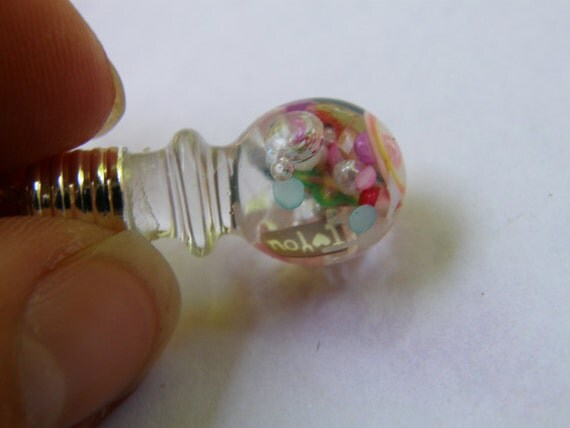 CLEARANCE Fruity Sweet Vial Necklace