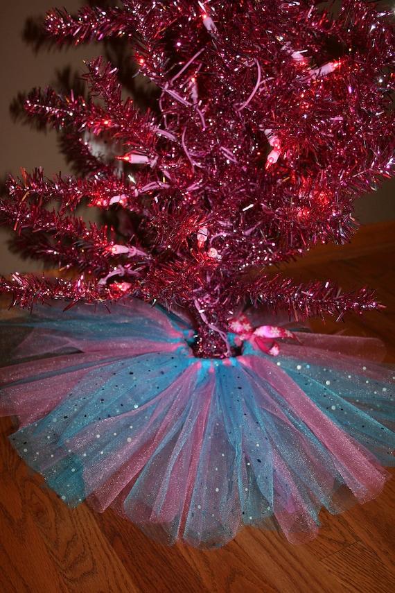 Reserved listing for leslie ballet tutu christmas tree skirt