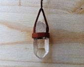 Crystal Quartz Chain Necklace