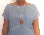 Orange Agate Body Harness