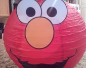 Elmo Inspired Birthday Paper Lantern