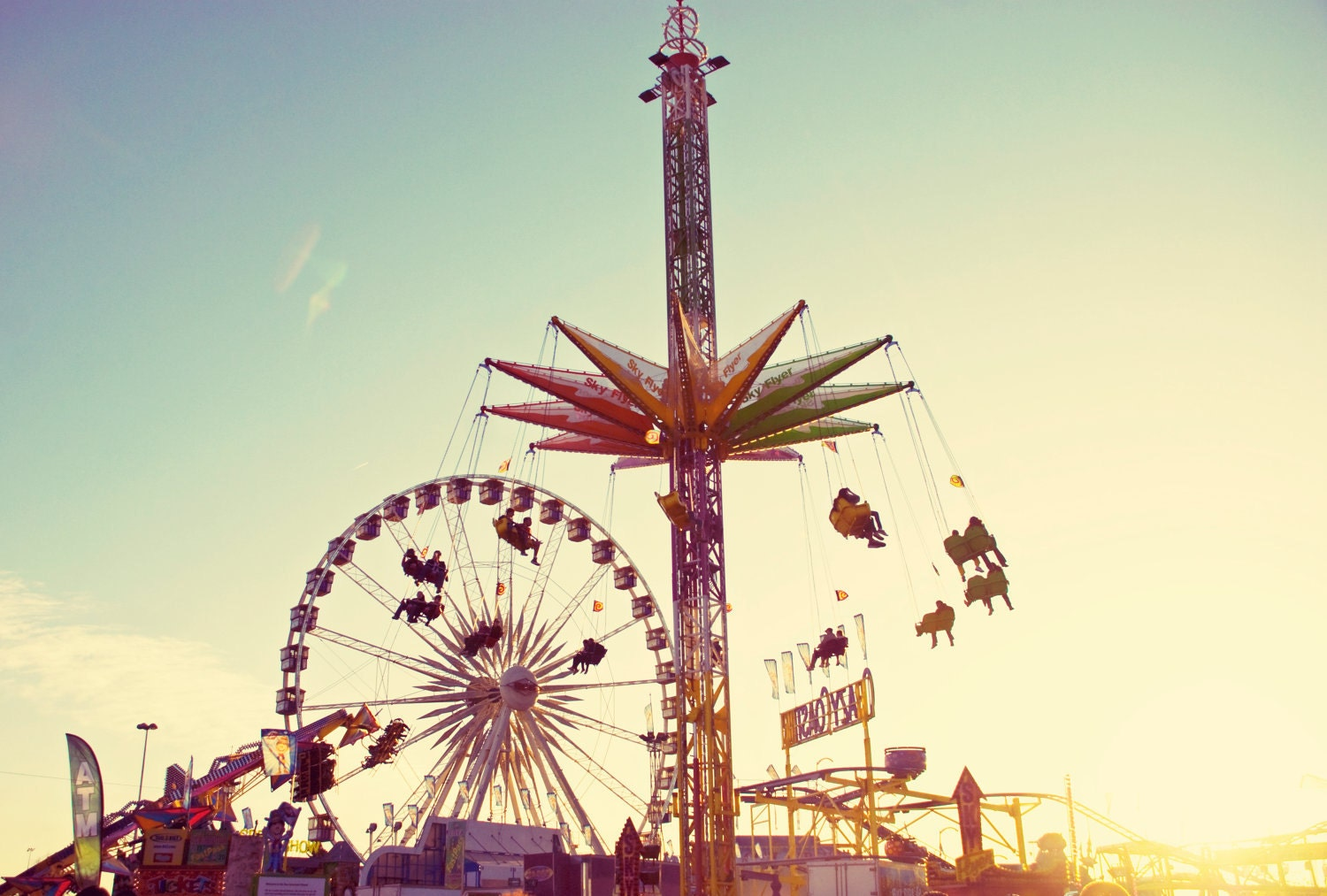 Fine art photography retro fair carnival vintage ride for Vintage style photography tumblr