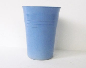Vintage Baby Blue Drinking Glass, Juice or Beverage Glass