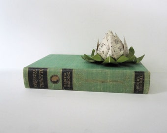 "Vintage Hardcover Book with Engravings -- ""Farewell 'Toinette' First Edition on Marie Antoinette France -- Green Binding"
