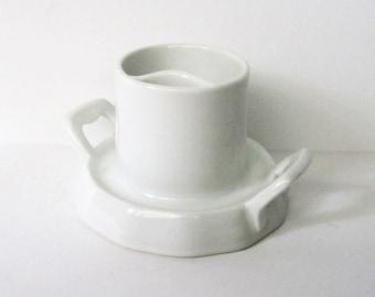 Vintage White Germany Barvaria Porcelain Cigarette Holder