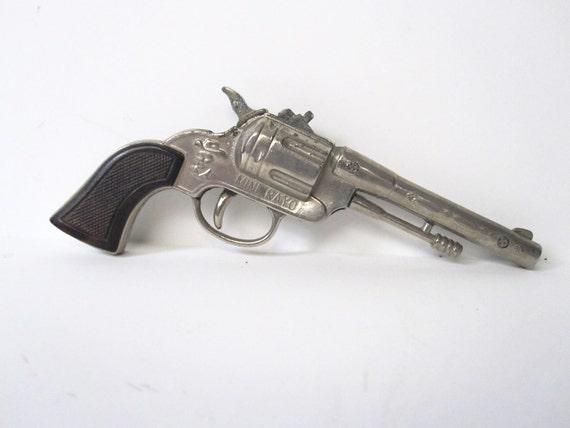 "Miniature Toy Cowboy Gun ""Mini Rayo"" -- Vintage"