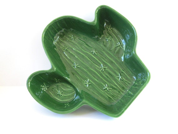 Cactus Planter, Vintage Treasure Craft, USA Pottery