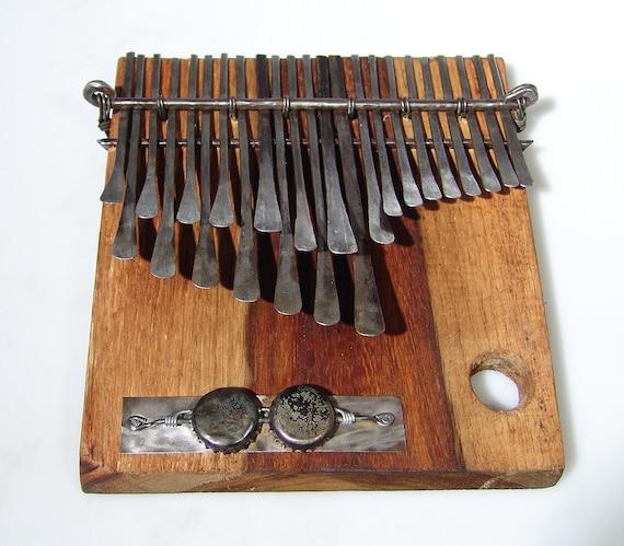 22 Key Shona Nhare ELECTRIC Mbira - Finger Piano Handmade in Zimbabwe