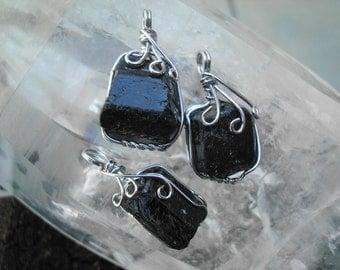 Black Tourmaline Pendant V1