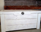 White Hope Chest / Toy Chest