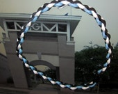 MGM Mary G Montgomery Necklace Paracord Sports Baseball Necklace Black Blue White