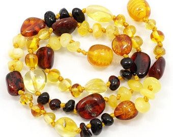 Baltic Amber Baby Teething Necklace 122