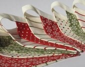 LAST ONE Christmas Mini Bunting/Banner - Perfect for the festive holiday season and photos.
