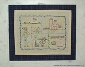 Farm Country - PDF Embroidery Pattern