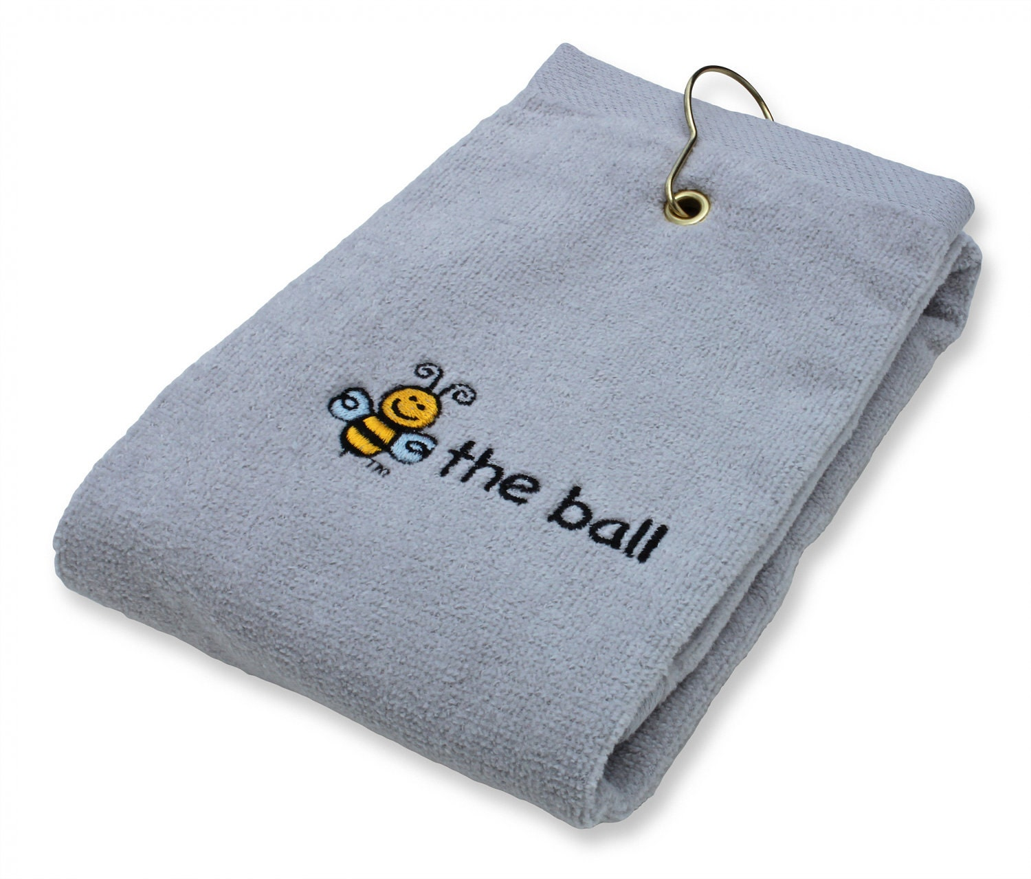 Golf Towel Embroidered Bee The Ball For The Sport