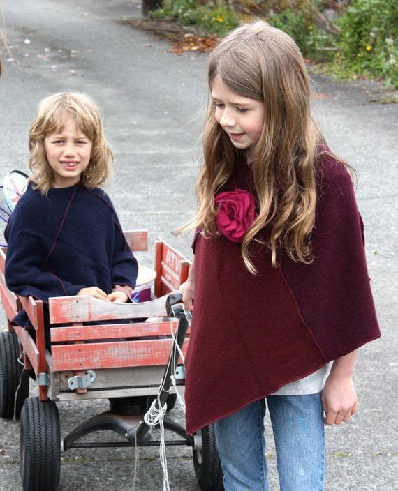 CHILDRENS CLOTHING  Girls Cashmere Poncho, Clothing for Children, Kids Poncho, Children's clothing, spring clothing, Children