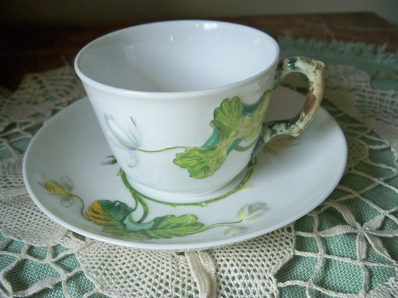 RESERVED. FOR NW.     Antique Vintage Mintons Lily Tea Cup and Saucer