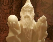 White Beeswax Wizard Candle