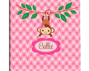 Custom Shower Curtain Personalized - Monkey