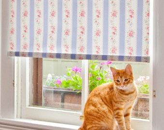 "Trellis Floral Pattern Window Shade 38.25''- 41"" width"