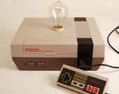 Unique NES Console Lamp