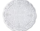 10'' French Lace Paper Doilies 50