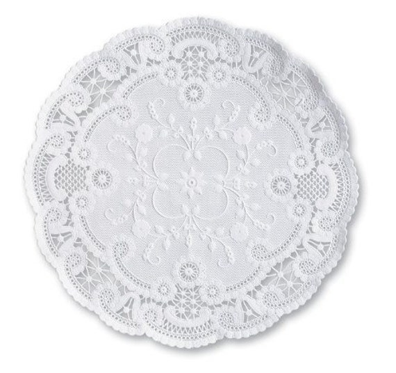 8in French Paper Doily 50