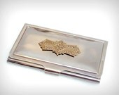 Business Card Case Ornate Vintage