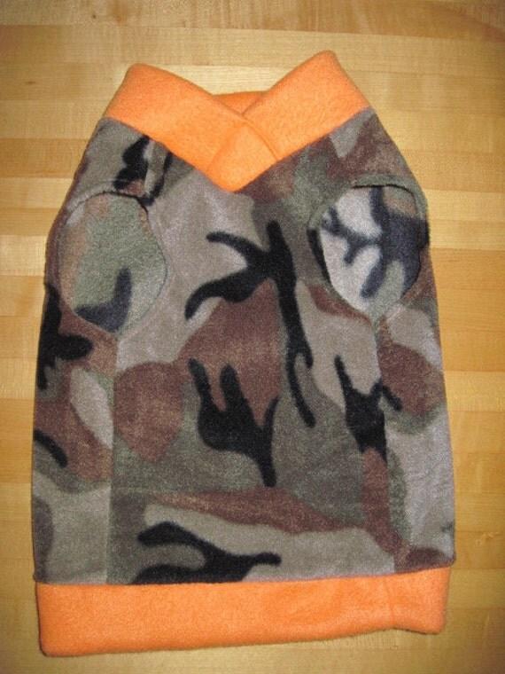 X-Small Camoflage Fleece