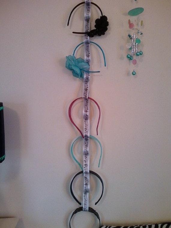 Music Ribbon Headband Holder