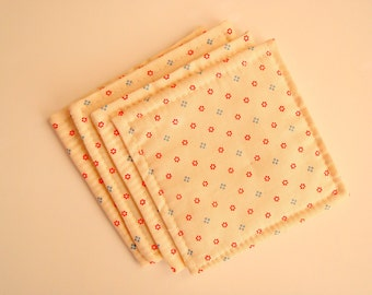 COASTERS MINI QUILT with quilters quality fabric
