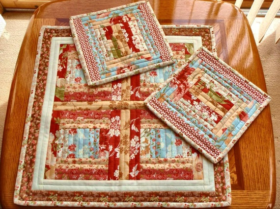 Quilts Table Top & Mug Rugs, Hot Pads