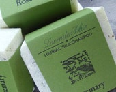 Rosemary Shampoo Bar -  Herbal Silk Shampoo - herbalist formulated - handmade in BC, Canada - silk and jojoba - organic bar shampoo