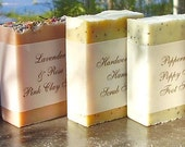 10 Luxurious Bars of Artisinal  Shea and Cocoa Butter Soap - hand made in BC, Canada - Shea butter soap
