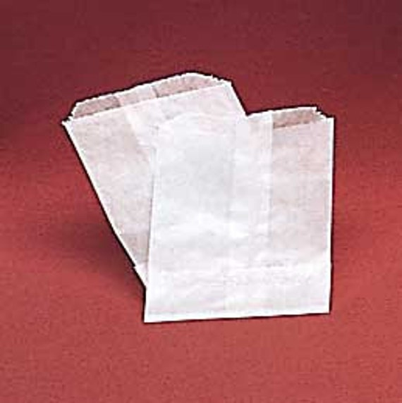 "Set of  25 Glassine Bags X-Large  6.75"" X 9.25"""
