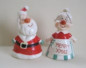 Mr. & Mrs. Claus XMAS Bells